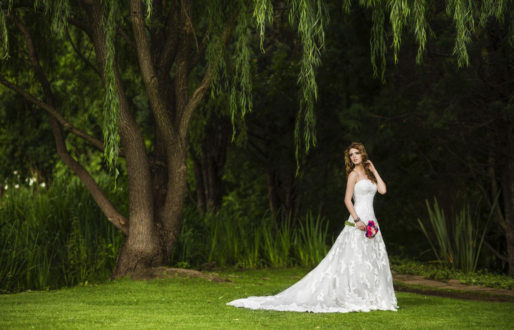 Every bride wants to be picture perfect in their wedding dress